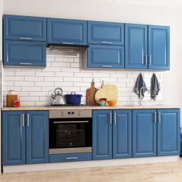 Кухня Софт Премьер (RAL 5001)