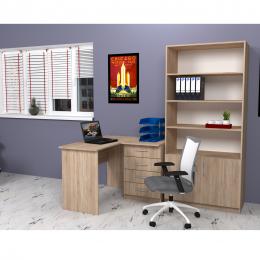 Офисная мебель со шкафом