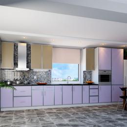 Кухня Винтаж латте / лаванда