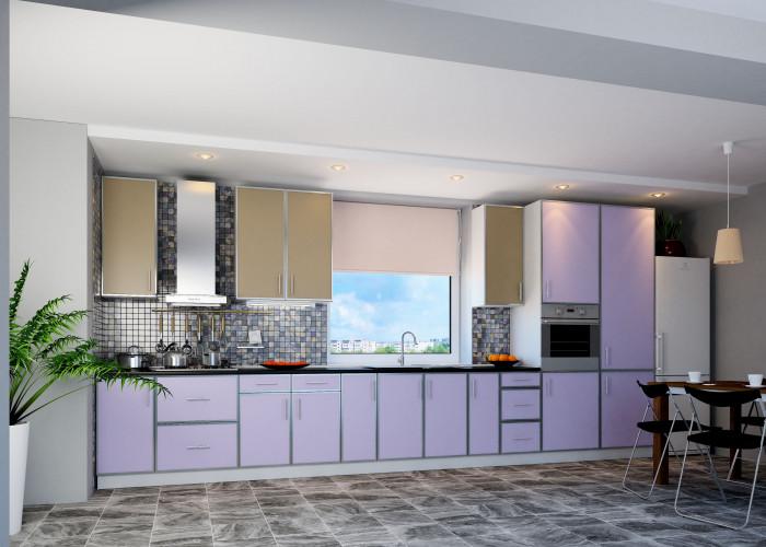 Кухня Винтаж (латте, лаванда) Фото