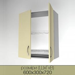 Верхние кухонные модули (высотой 720)
